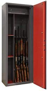 Armoire à fusil sécurisé
