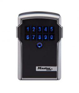 photo de la boîte à clé Master Lock Bluetooth