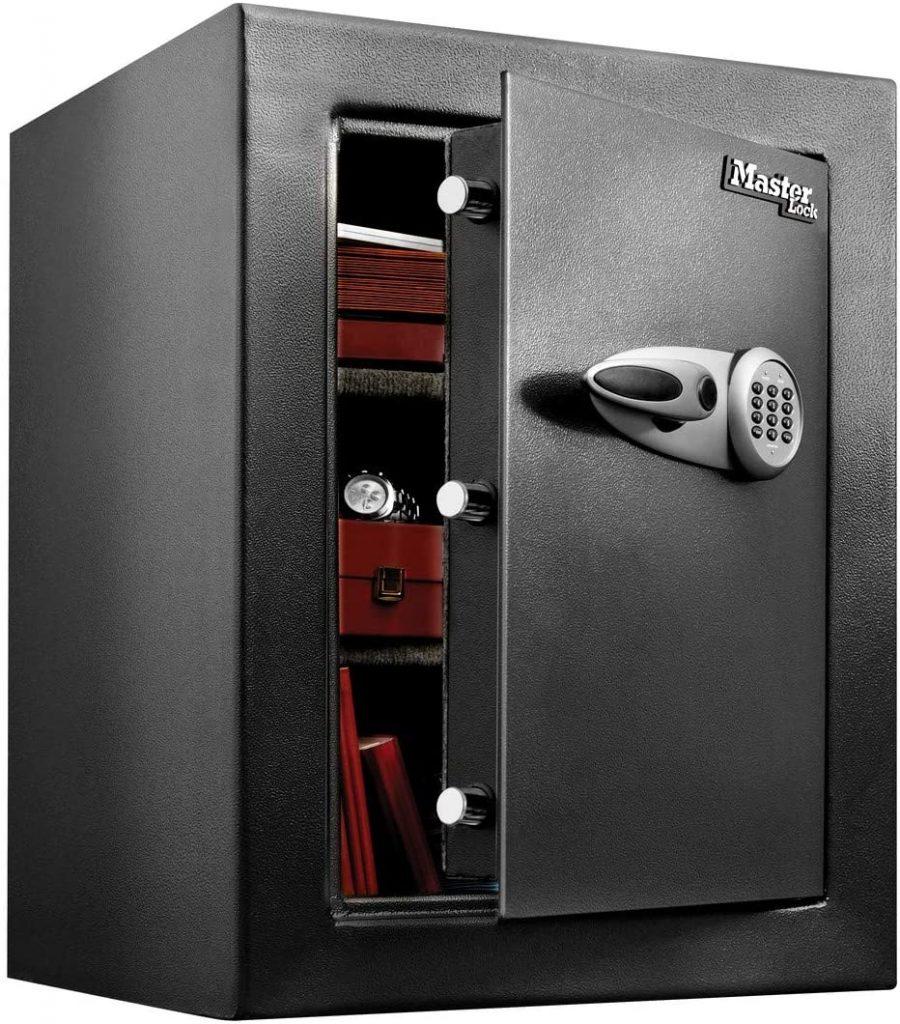 Photo du coffre-fort Master Lock version 115L