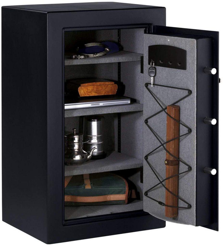Photo de l'intérieur du coffre-fort Master Lock TO-331ML